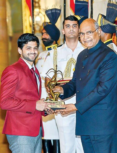 Arjuna receives Sajpranit delhi