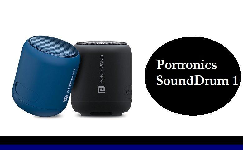 Portronics SoundDrum 1 portable Bluetooth Speaker Review